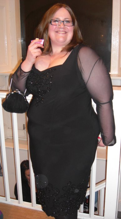Me in IGIGI Cocktail Dress